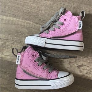 Converse pink infant size 2